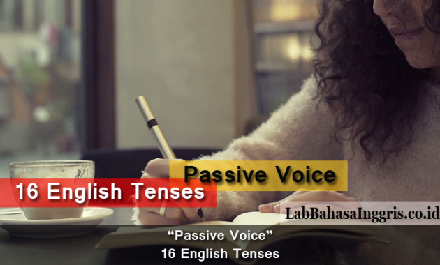 Passive Voice - 16 English Tenses